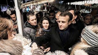 ماكرون يكرم ضحايا هجوم استهدف سوق أعياد الميلاد في سترازبورغ…