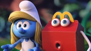 All Best of Happy Meal Toys Smurfs 3 & 2 Commercials