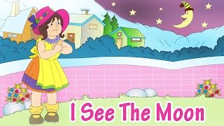 I See The Moon | Animated Nursery Rhyme in English