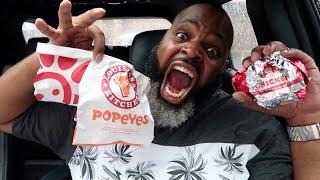 Popeyes vs Chick fil A Chicken Sandwiches vs Wendy