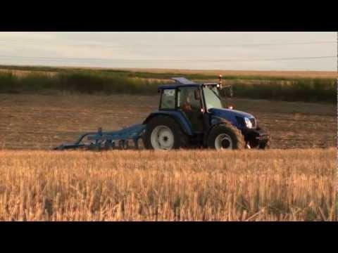 Gruberowanie 2012 New Holland T5060 Mandam