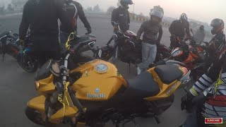 Ride With Benelli is not EASY | Duke VS Dominar