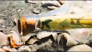 Message in a bottle travels from Long Island to Sanibel Island