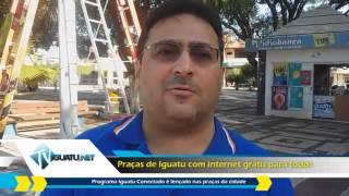 Internet grátis nas praças de Iguatu