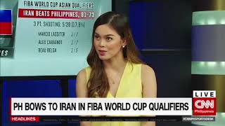 PH bows to Iran in FIBA World Cup Qualifiers