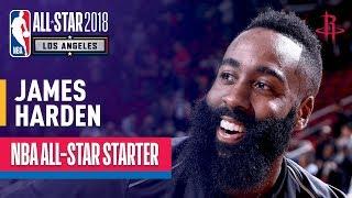 James Harden 2018 All-Star Starter   Best Highlights 2017-2018