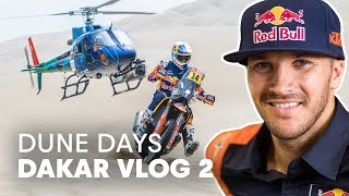 Sand Dunes, Special Stages, Slow Motion And A Bet Between Friends | Dakar Rally 2019