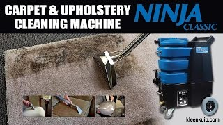 The Best Portable Carpet and Upholstery Cleaning Machine - Ninja Classic