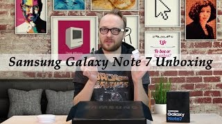 Samsung Galaxy Note 7 Unboxing by Arjen Lubach