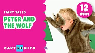 Peter and The Wolf | Fairytale for Kids | Cartoonito UK 🇬🇧