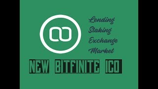 Bitfinite ICO new lending platform that has it all! 5x to 20x profits!