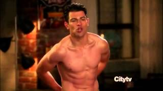 New Girl Schmidt Shower Scene
