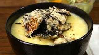 Mung bean porridge (Nokdu-juk: 녹두죽)