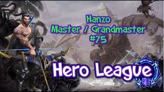 How to play Hero League #75 - Hanzo - Grandmaster / Master - Heroes of the Storm