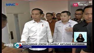 Kunjungi MNC Media, Jokowi Curi Perhatian Para Karyawan - LIS 18/09