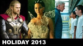 Holiday Movies 2013 - Ender's Game, Thor 2, Catching Fire, Disney's Frozen - Beyond The Trailer