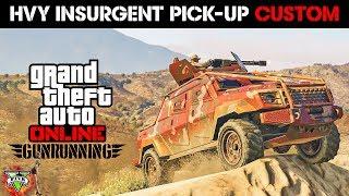 GUNRUNNING DLC SPENDING SPREE!! - NEW INSURGENT CUSTOM - GTA 5 GUNRUNNING DLC (4K Stream)