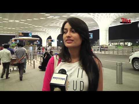 Surbhi Jyoti aka Sanam of Qubool Hai Leaves for Jordon