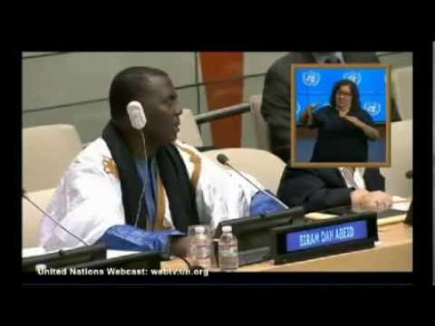 Xxx Mp4 ONU New York Intervention De Birame Ould Abdeid Président De L IRA 3gp Sex
