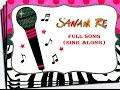 Sanam re - title song - arijit singh - sing along mp3 download