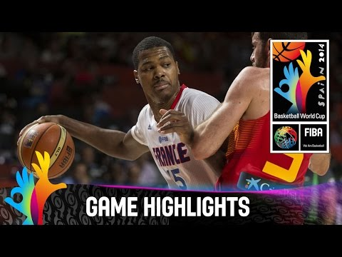 watch France v Spain - Game Highlights - Quarter Final - 2014 FIBA Basketball World Cup