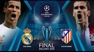 Final Champions League 2016 / Real Madrid 1 - 1 Atletico de Madrid /  Goles & Penaltis / Audio COPE
