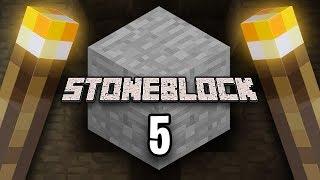 Minecraft: StoneBlock Survival Ep. 5 - ONE HIT WITHER KO