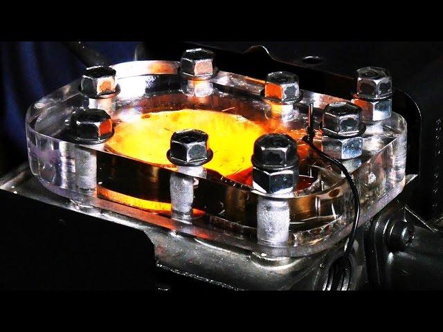 Der Durchsichtmotor - 4K Slow-Motion sichtbare Verbrennung