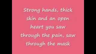 Celine Dion -  Loved Me Back To LIfe (LYRICS)