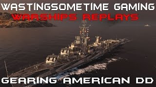 American Destroyer Tier 10 Gearing: World of Warships