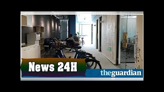 Anger as chinese bike sharing firm shuts up office with riders