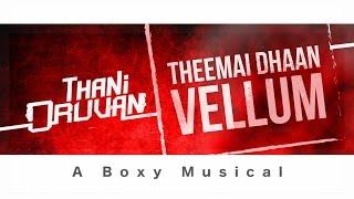 Thani Oruvan - Theemai Dhaan Vellum Karaoke | Jayam Ravi, Arvind Swamy | Andre Nel Boxy