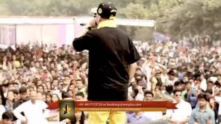 J Star Live at Moti Lal Nehru College Delhi on March 2015