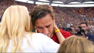 Francesco Totti Farewell Last Game For AS ROMA • Football Emotional Moment 2017