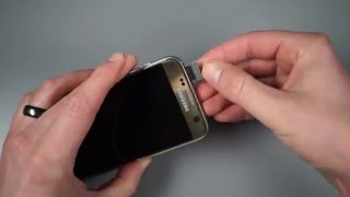 Inserting SIM and SD Card in Galaxy S7 / S7 Edge