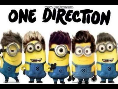 One Direction Best Song Ever Minion Version