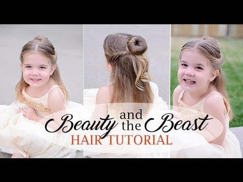 Xxx Mp4 Belle Hair Tutorial For Little Girls Beauty And The Beast Inspired Fine Toddler Hair 3gp Sex