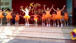 Em chúc xuân - Trường mầm non Hoa Anh Đào - Quận Bình Thạnh - TP.HCM