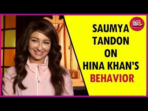 Xxx Mp4 Saumya Tandon On Hina Khan's Behavior Reveals If She Wants To Be A Part Of Bigg Boss 11 3gp Sex