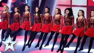 Innova Irish Dance Company are the belles of BGT | Britain's Got Talent 2014