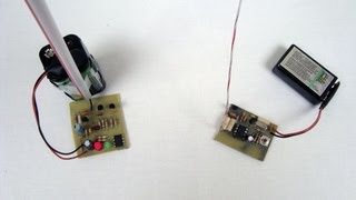 Simple RF Receiver / Transmitter Pair (27 MHz)