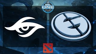 Dota 2 - Team Secret vs. EG - ESL One Frankfurt 2015 - Grand Final - Game 1