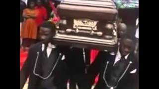 African Funeral Singing and Dance