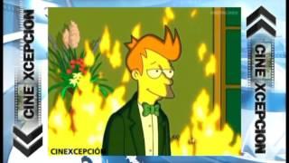 Fry de Futurama lo hizo antes que Quicksilver en X-Men: Apocalipsis