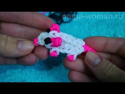 Как сделать из резинок мышка без станка