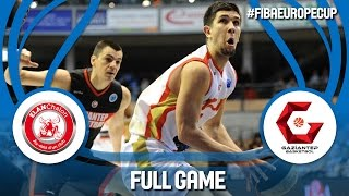 Elan Chalon (FRA) v Gaziantep (TUR) - Full Game - FIBA Europe Cup 2016/17