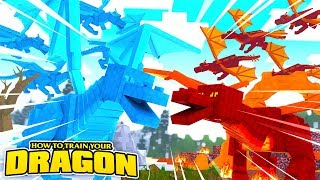 THE DRAGON WAR BEGINS! - How To Train Your Dragon w/TinyTurtle
