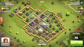 Clash of Clans - Tecnicas de ataque usando tropas básicas