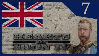 Hearts of Iron IV - The Great War #7 Ahistorical British Empire