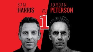 Sam Harris & Jordan Peterson - Vancouver - 1